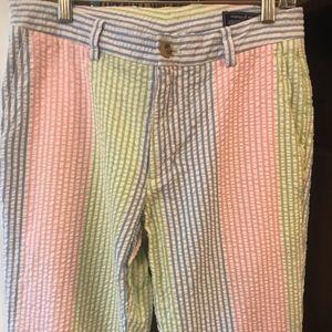 Vineyard Vines Patch Seersucker Pants 30x32